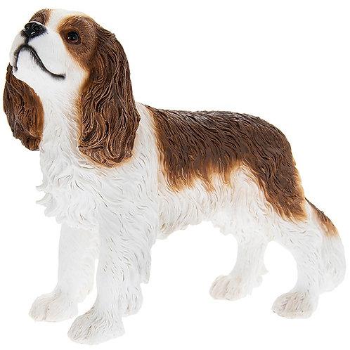 Cavalier King Charles Brown & White Figurine