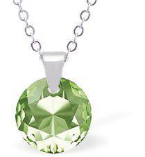 Swarovski Crystal Peridot Necklace