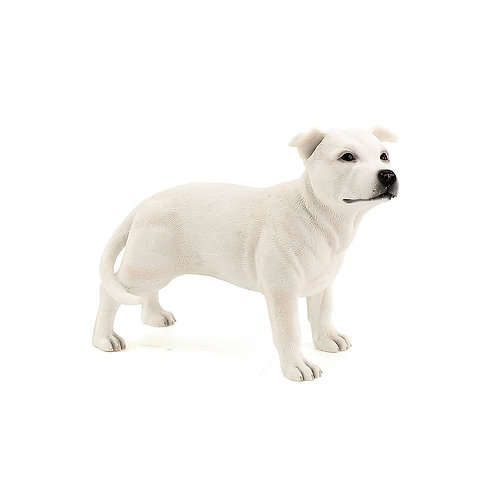 White Staffordshire Figurine