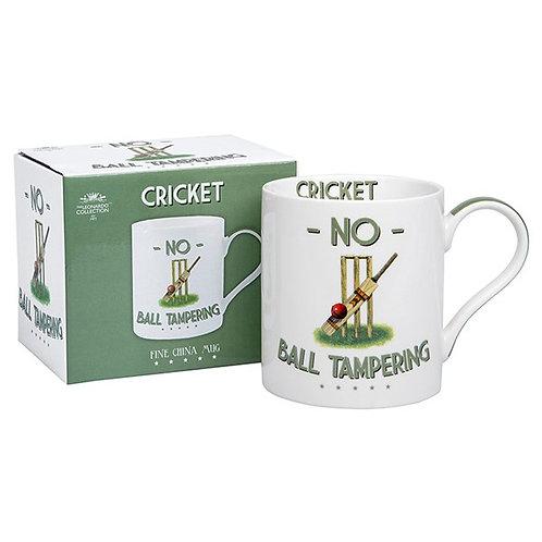 Cheeky Sport Mug Cricket