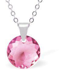 Swarovski Crystal Rose Necklace