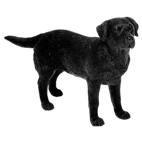 Black Labrador Figurine