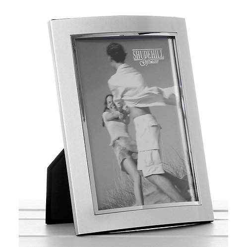 Silver Anodised Photo Frame 4 x 6
