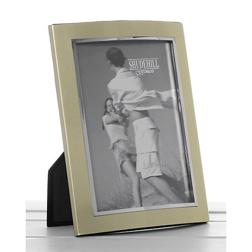 Gold Anodised Photo Frame 6 x 8