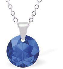 Swarovski Crystal Sapphire Necklace