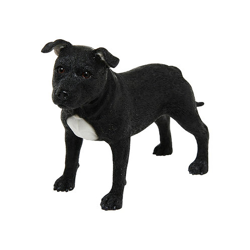 Black Staffordshire Figurine