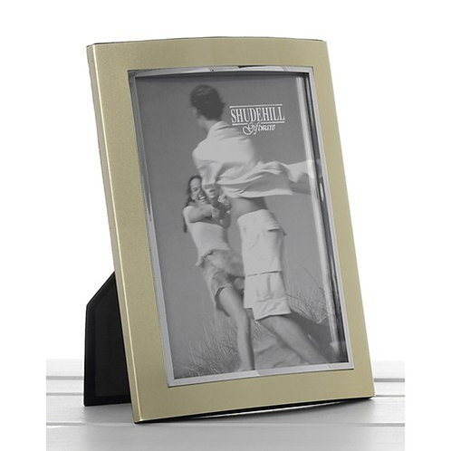 Gold Anodised Photo Frame 4 x 6