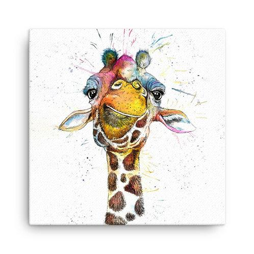 Splatter Rainbow Giraffe