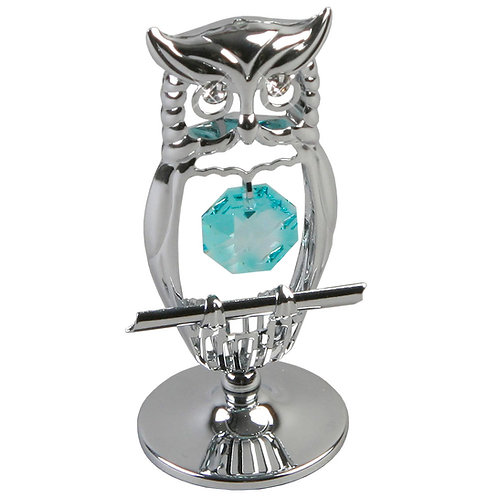 Owl with Crystal