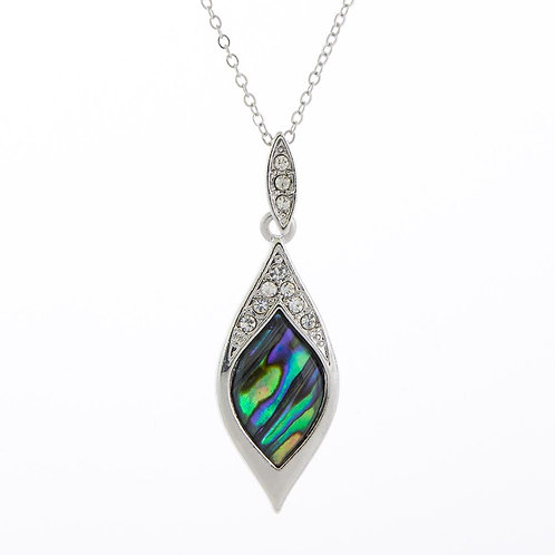 Paua Shell Lanterna Necklace