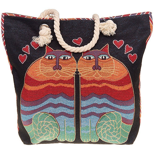 Equilibrium Tapestry Cats Tote Bag