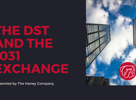 Webinar Replay – The DST and the 1031 Exchange