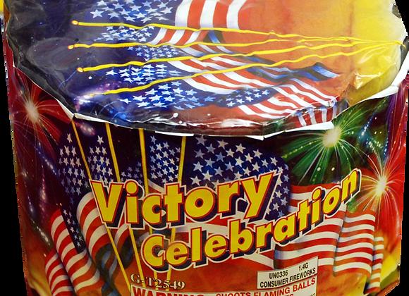 37 shot Victory Celebration