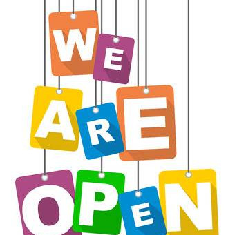 WE ARE NOW OPEN...