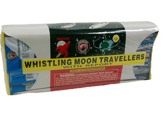 Single Whistle Bottle Rockets