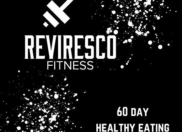 60 - Day Healthy Eating Guide & Tracker (Book)