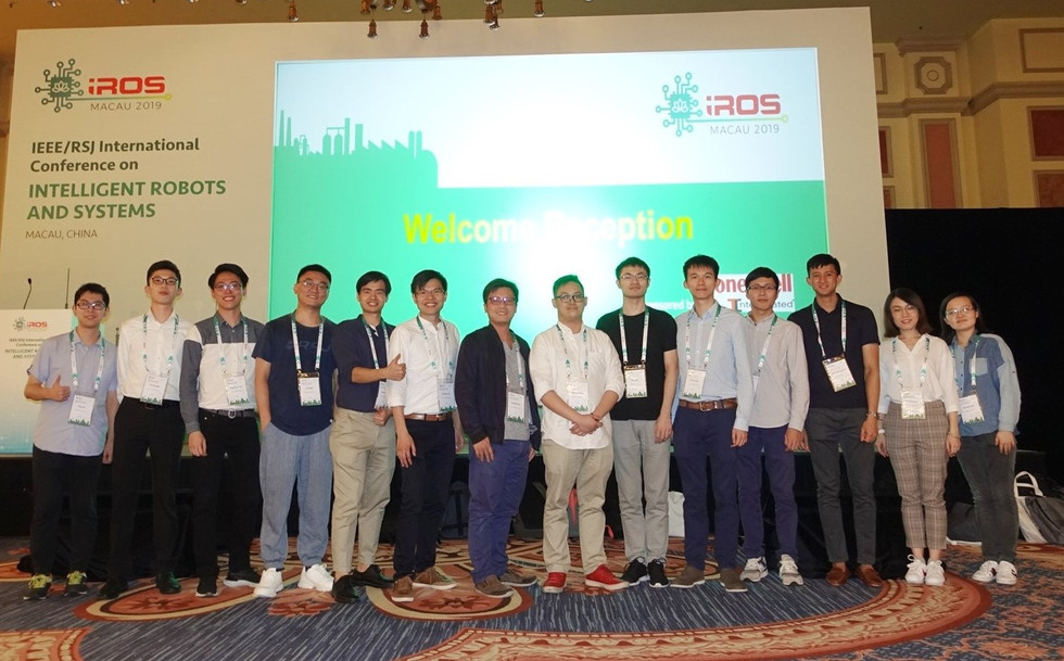Group IRIS joined IROS 2019!