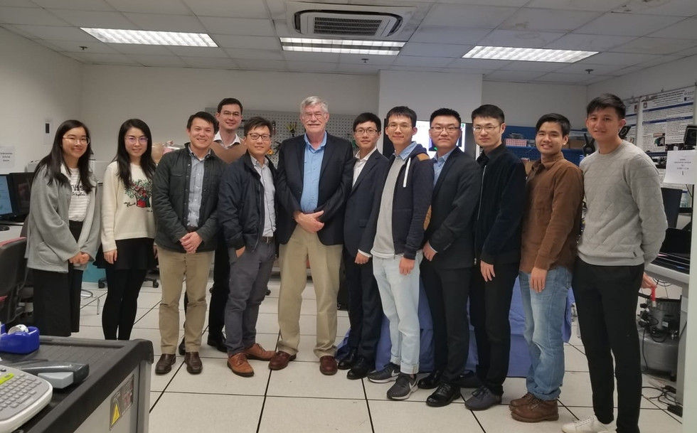 Prof. Russell H. Taylor visited IRIS Lab and gave a talk.