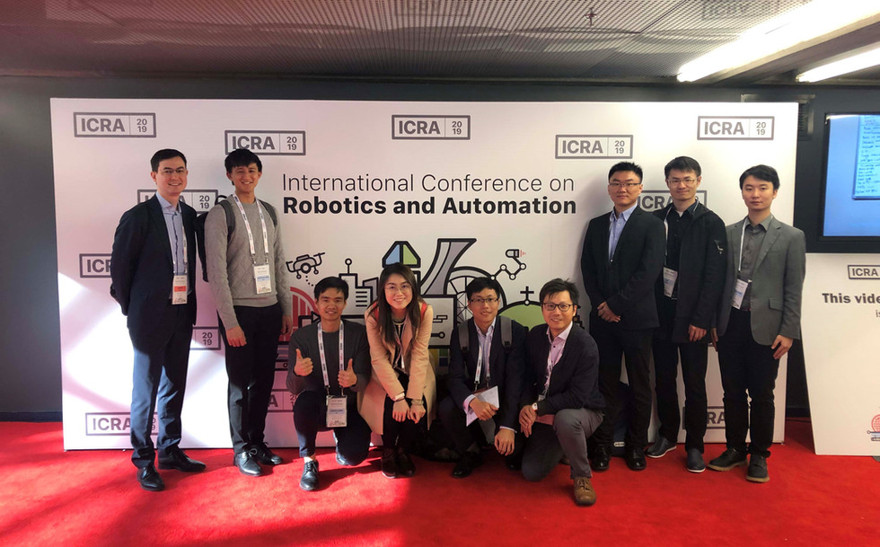 IRIS team joined the 2019 IEEE International Conference on Robotics and Automation (ICRA'19)