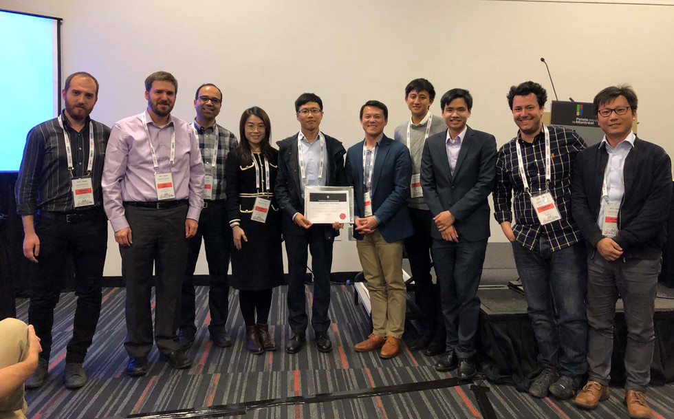 IRIS team was awarded the Best Workshop Paper Award (Second Place) in the 2019 IEEE International Conference on Robotics and Automation (ICRA'19) workshop on Surgical Robots.
