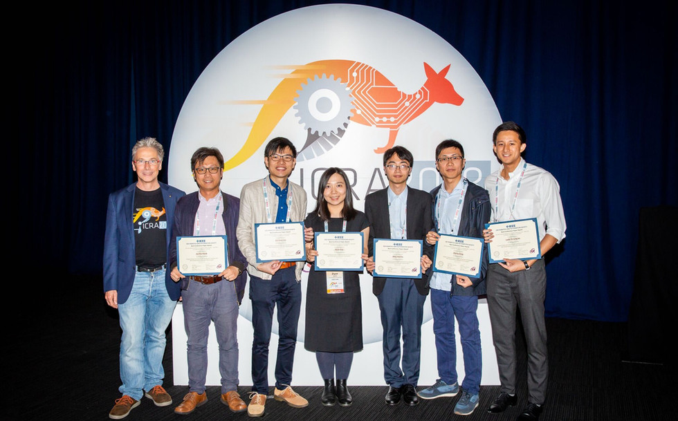 IRIS team is awarded finalist (out of 3) for the Best Medical Robotics Paper in the IEEE International Conference on Robotics and Automation (ICRA) 2018'