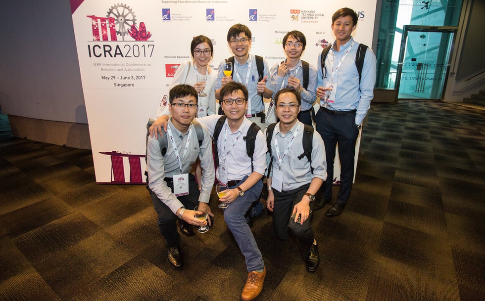 IEEE International Conference on Robotics and Automation (ICRA) 2017 in Singapore