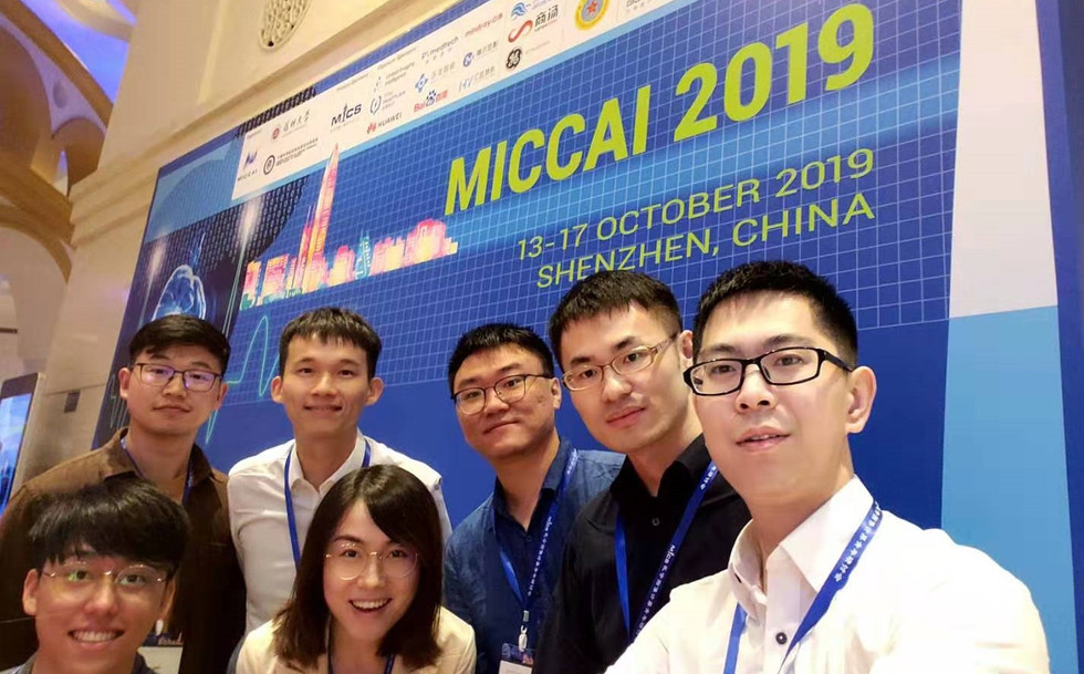 Group IRIS joined MICCAI 2019!