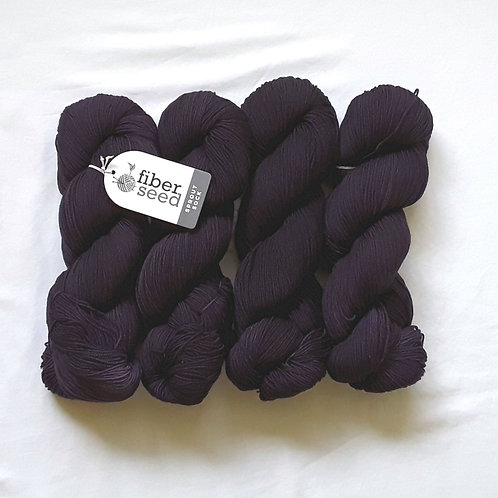 Aubergine | Sprout Sock (bag of 4)