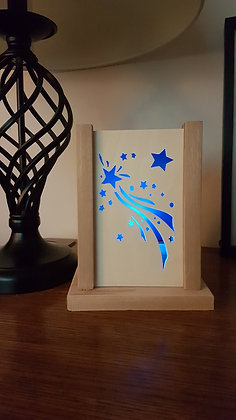 Shooting Stars LED Candle Holder