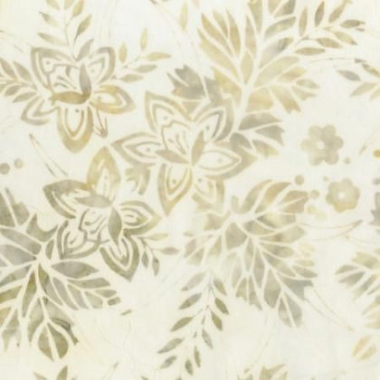 Shades of Beige Floral - Anthology Batik
