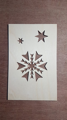 Snowflake Faceplate