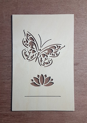 Butterfly Faceplate