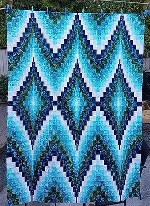 Double Diamonds Bargello Pattern by Eileen Wright