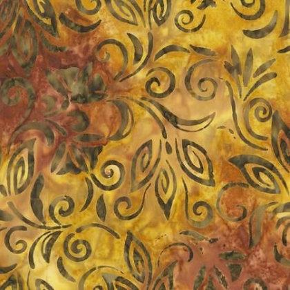 Swirling Leaves - Anthology Batik