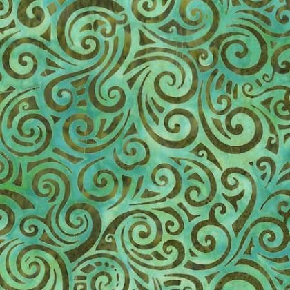 Green swirls - Anthology