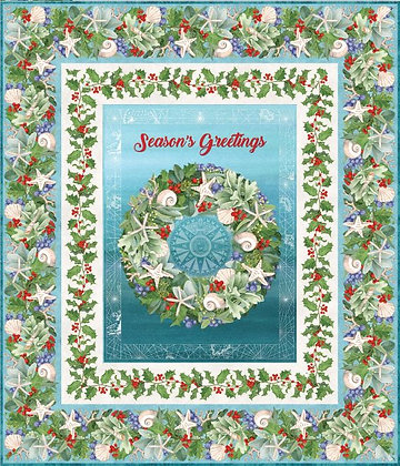 Coastal Christmas - Wreath Wallhanging Kit
