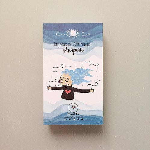 Set tarjetas - Puerperio