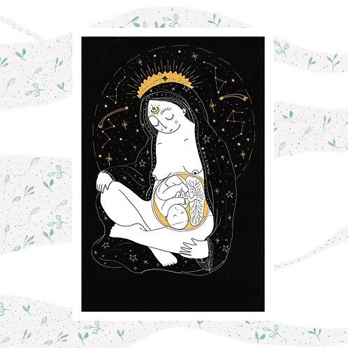 Postal - Diosa Madre 2