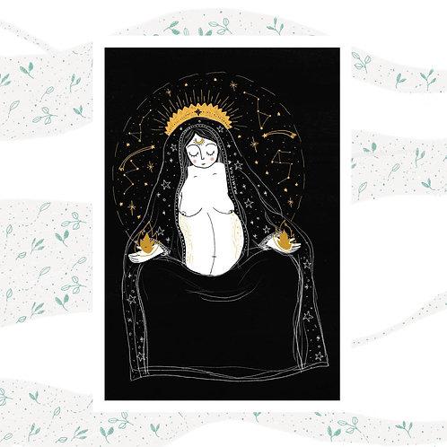 Postal - Diosa Madre 1