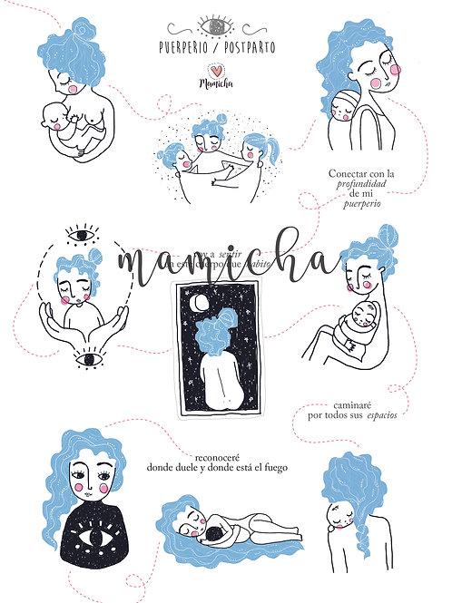 Ilustracion digital - Puerperio
