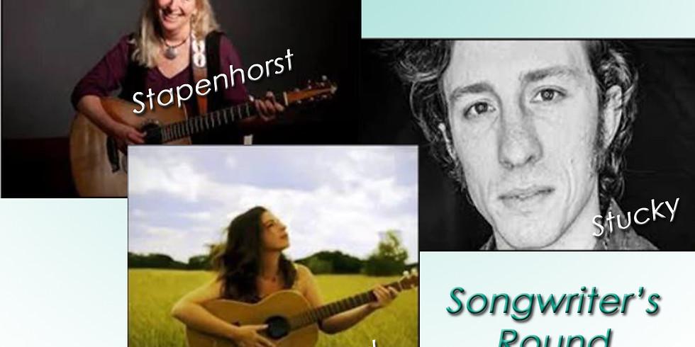 Nashville-style Songwriter's Round: Stapenhorst, Stucky and Rand