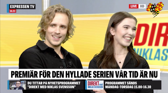 Intervju Expressen TV