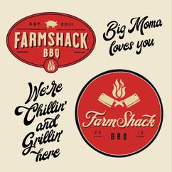 Farmshack Logo Branding Mangobeard Johan Erenius