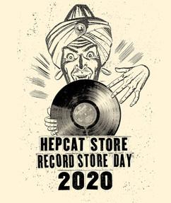 Hepcat Store Lund Johan Erenius Mangobeard Record store day