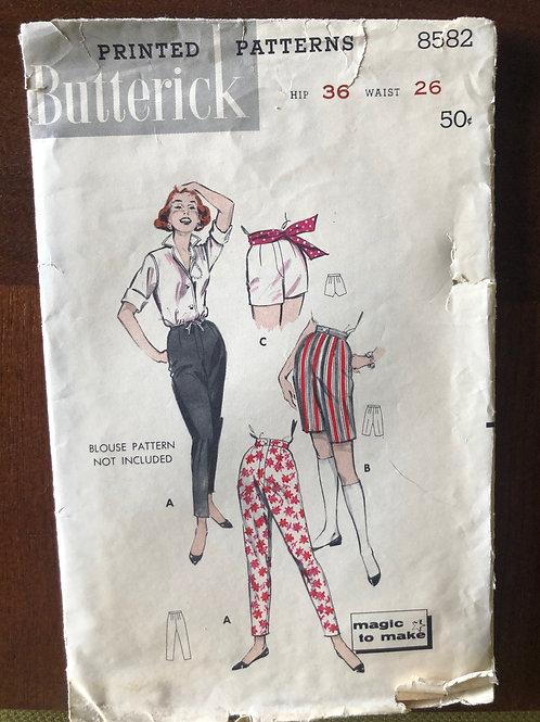 Vintage Women's Pants Pattern