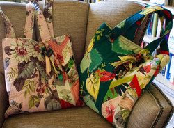 Barkcloth Bags