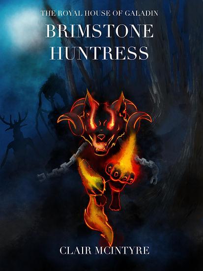 Cover of Brimstone Huntress