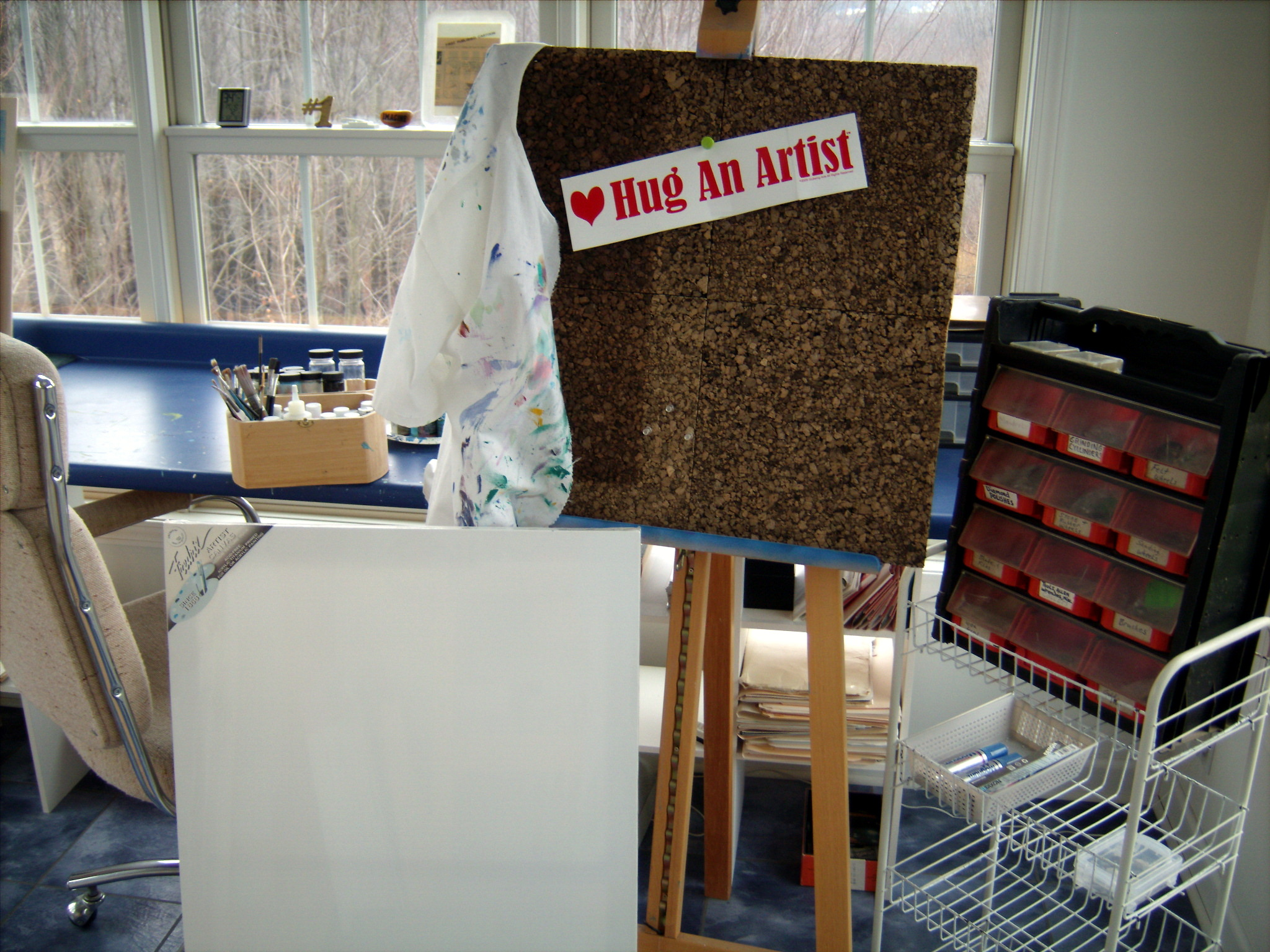 Hug an Artist