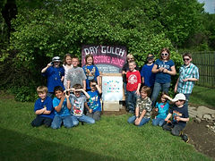 Pack 14 Cub Scouts at Dry Gulch 2010.JPG