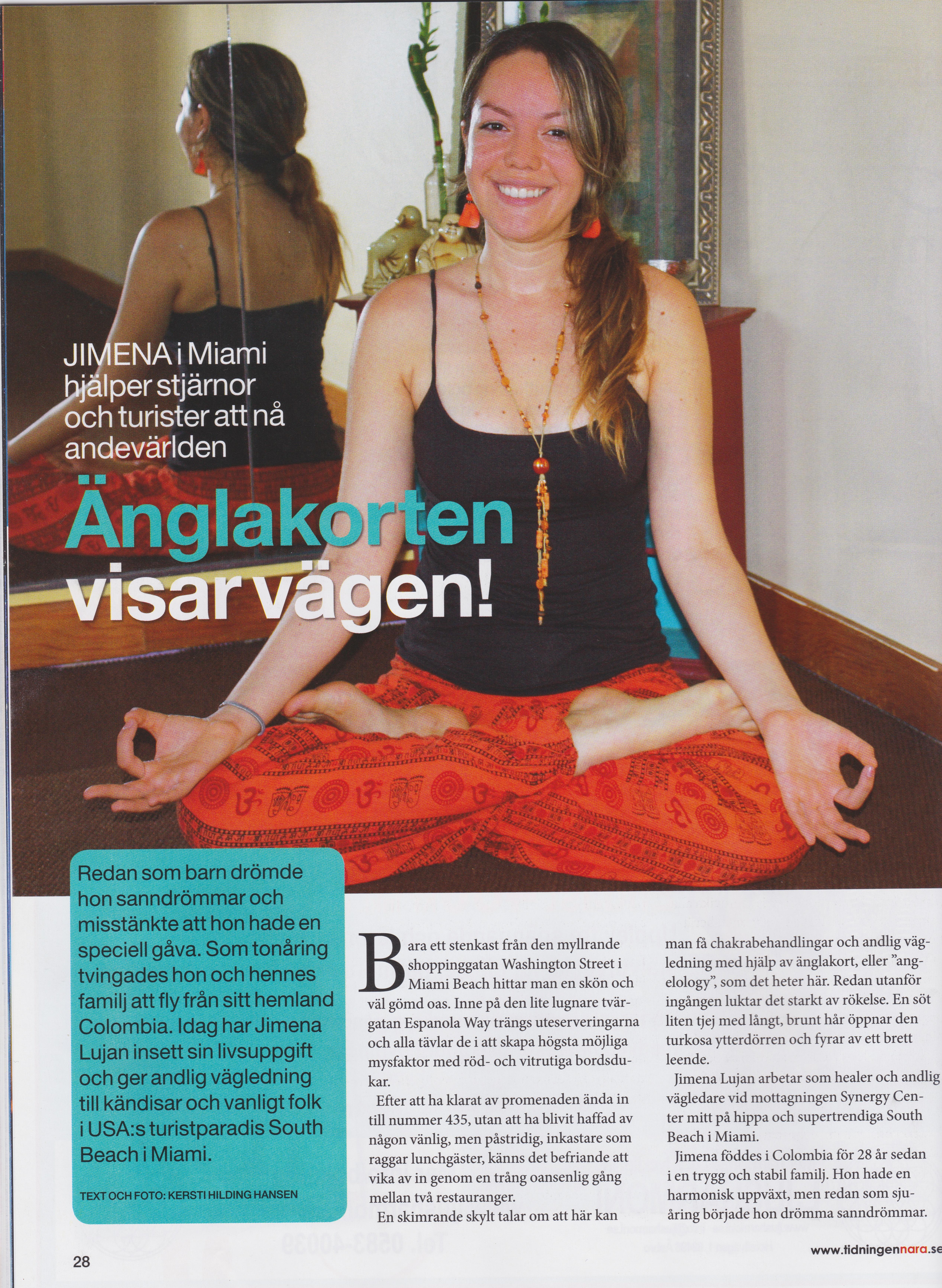 Interview with Närä Magazine